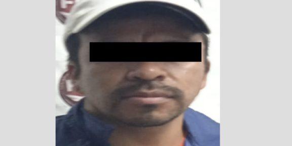 CAPTURAN A PRESUNTO IMPLICADO EN EL DELITO DE ROBO DE VEHÍCULO CON VIOLENCIA