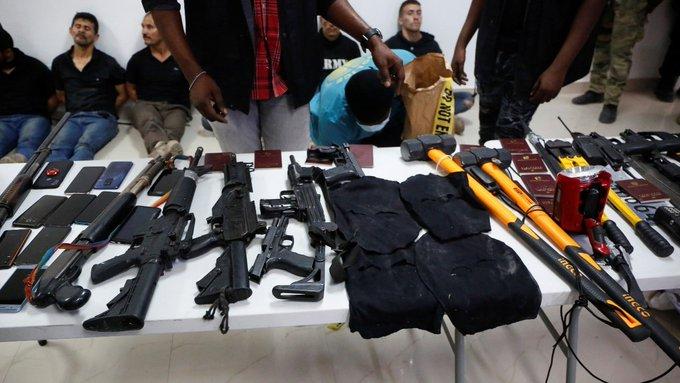 COMANDO QUE ASESINÓ A PRESIDENTE DE HAITÍ ESTABA COMPUESTO POR 26 COLOMBIANOS