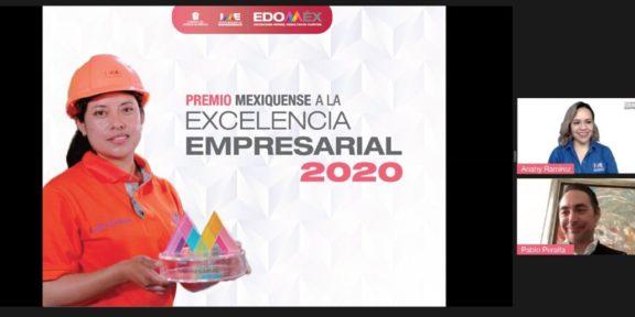 INVITA EDOMÉX A PARTICIPAR POR EL PREMIO MEXIQUENSE A LA EXCELENCIA EMPRESARIAL 2020