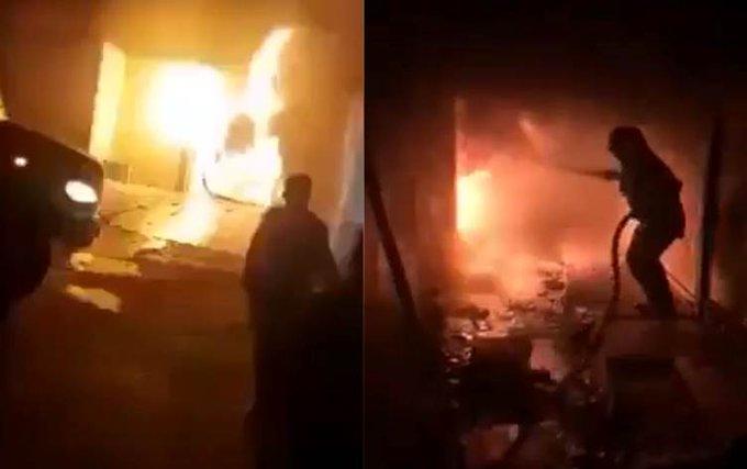 AL MENOS 58 MUERTOS DEJA UN INCENDIO EN ALA DE AISLAMIENTO DE COVID-19 EN HOSPITAL DE IRAK