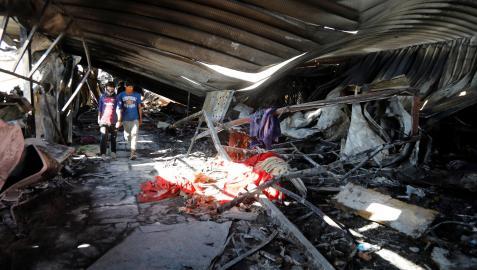 AUMENTA A 64 LOS MUERTOS POR INCENDIO EN HOSPITAL COVID EN IRAK