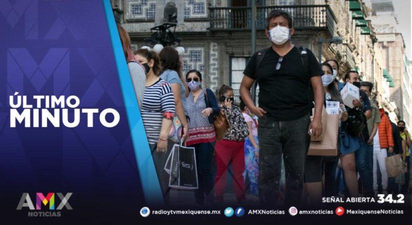MÉXICO REGISTRA POR SEGUNDO DÍA CONSECUTIVO MÁS DE 12 MIL CONTAGIOS DE COVID-19