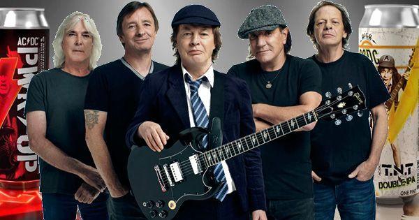 AC/DC LANZARÁ DOS NUEVAS CERVEZAS ARTESANALES