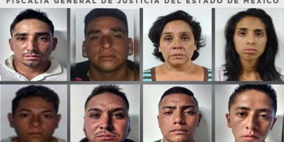 CONDENAN A 90 AÑOS DE CÁRCEL A OCHO PERSONAS POR SECUESTRO Y HOMICIDIO EN CHALCO