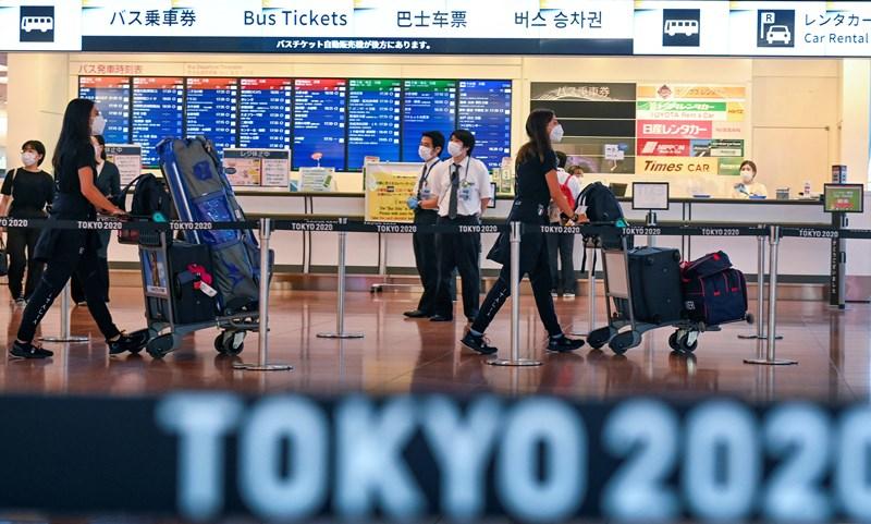 ¿CUÁL ES EL PROTOCOLO DE INGRESO A JAPÓN PARA SER PARTE DE LOS JUEGOS OLÍMPICOS?