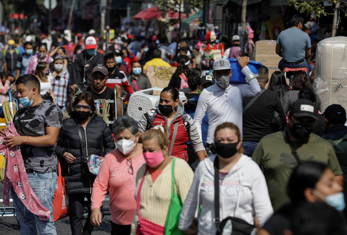 EN MÉXICO CIRCULAN LAS CUATRO VARIANTES DEL COVID-19: INSP