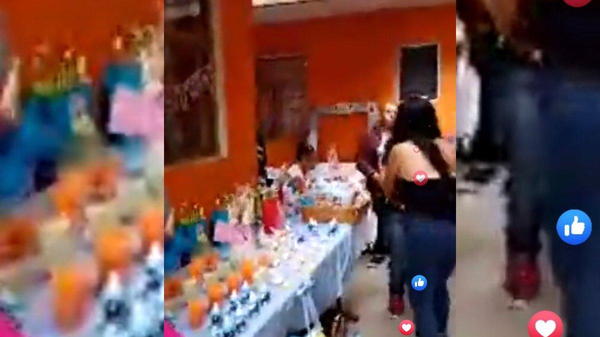 REDES SOCIALES SALVAN BABY SHOWER DE UNA JOVEN DE ATIZAPÁN DE ZARAGOZA
