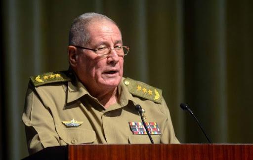 EU SANCIONA AL MINISTRO DE LAS FUERZAS ARMADAS DE CUBA