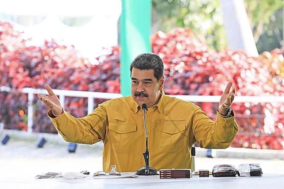 EXIGE MADURO LIBERAR RECURSOS VENEZOLANOS PARA TRANSMISIÓN DE LOS JJ.OO.