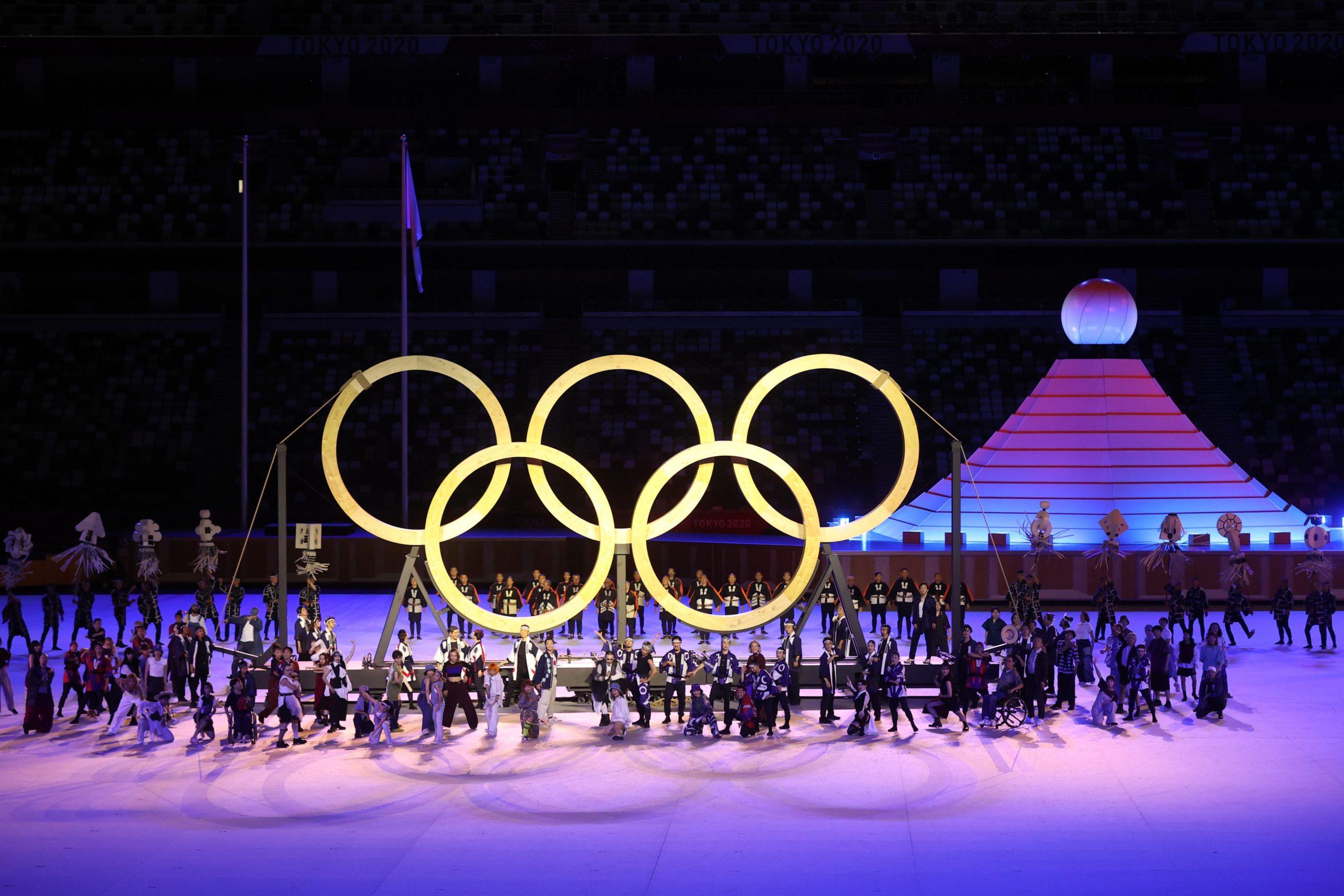FOTOS: INAUGURACIÓN DE LOS JUEGOS OLÍMPICOS DE TOKIO 2020