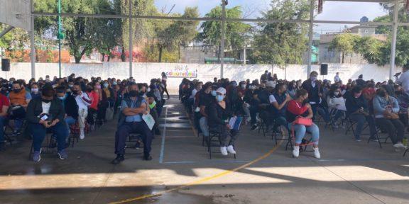 CONCLUYE VACUNACIÓN DE PERSONAS DE 30 A 39 AÑOS EN TLALNEPANTLA