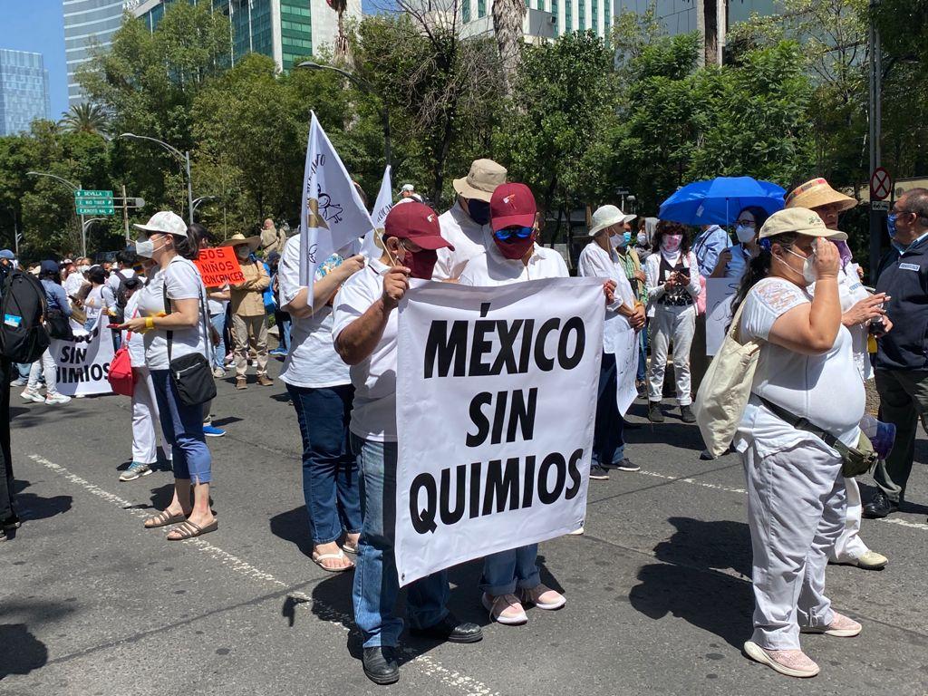 GALERÍA: INICIA MARCHA DE APOYO A PADRES DE NIÑOS CON CÁNCER