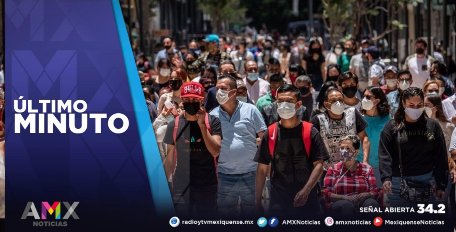 MÉXICO SUMA 15 MIL 823 CASOS NUEVOS Y 362 MUERTES POR COVID-19