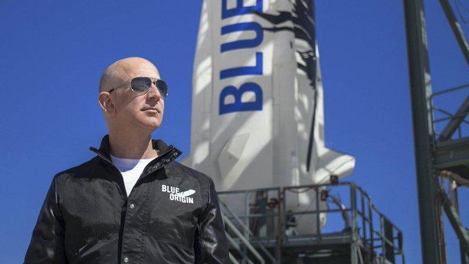 JEFF BEZOS OFRECE 2 MIL MDD A LA NASA PARA PRODUCIR NAVES HACIA LA LUNA