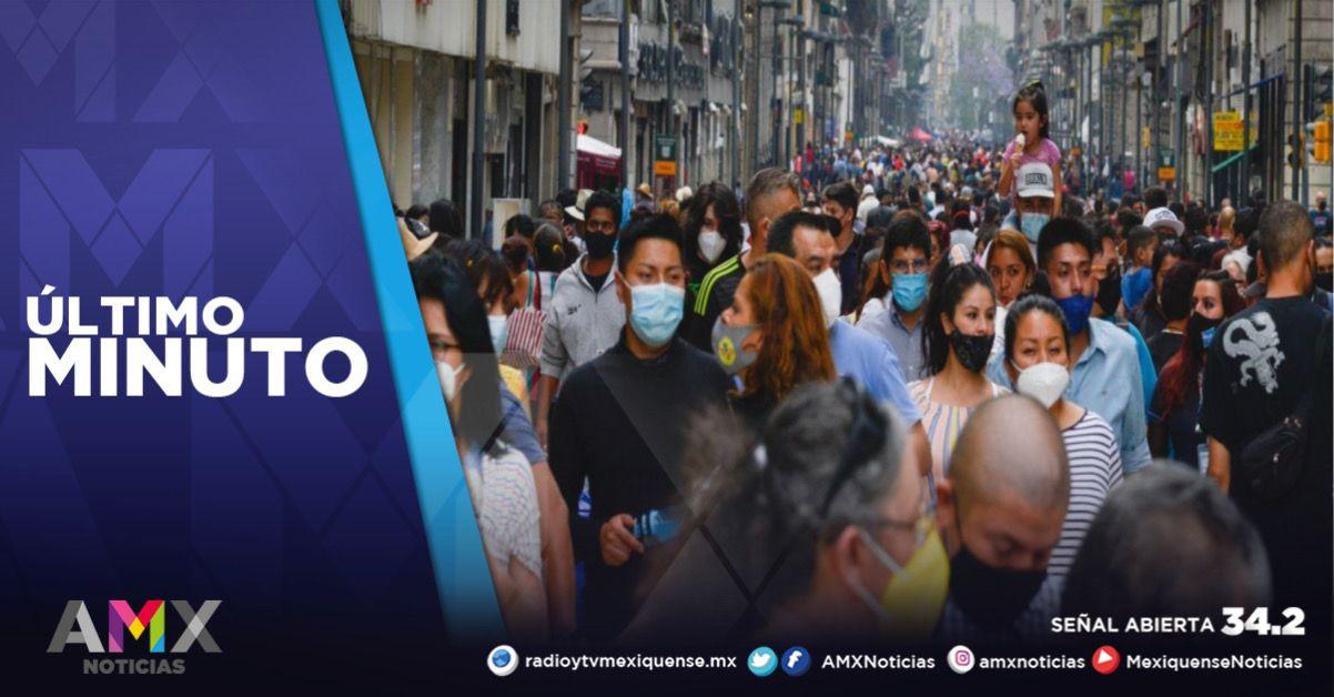 MÉXICO REGISTRA 19 MIL 028 NUEVOS CASOS A COVID-19 EN LAS ÚLTIMAS 24 HORAS