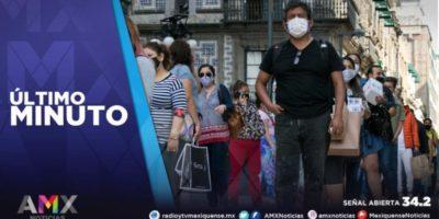 MÉXICO SUMA 115 MIL 095 CASOS ACTIVOS DE COVID-19