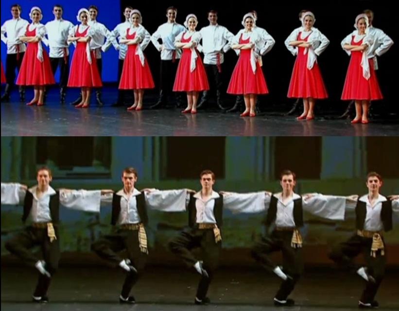 DANZATLÁN 2021: BALLET IGOR MOISEYEV REGALÓ NOCHE FESTIVA