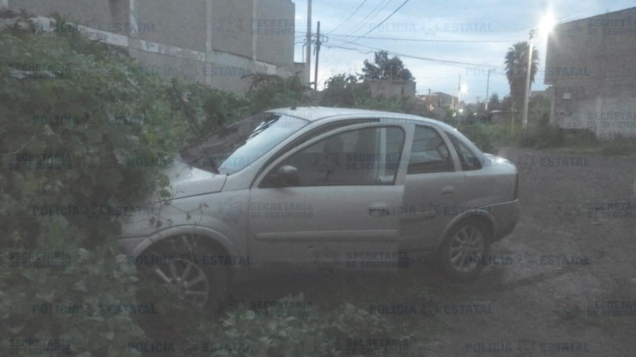 FUE DETENIDO EN ECATEPEC POR PRESUNTAMENTE ROBAR UN AUTO