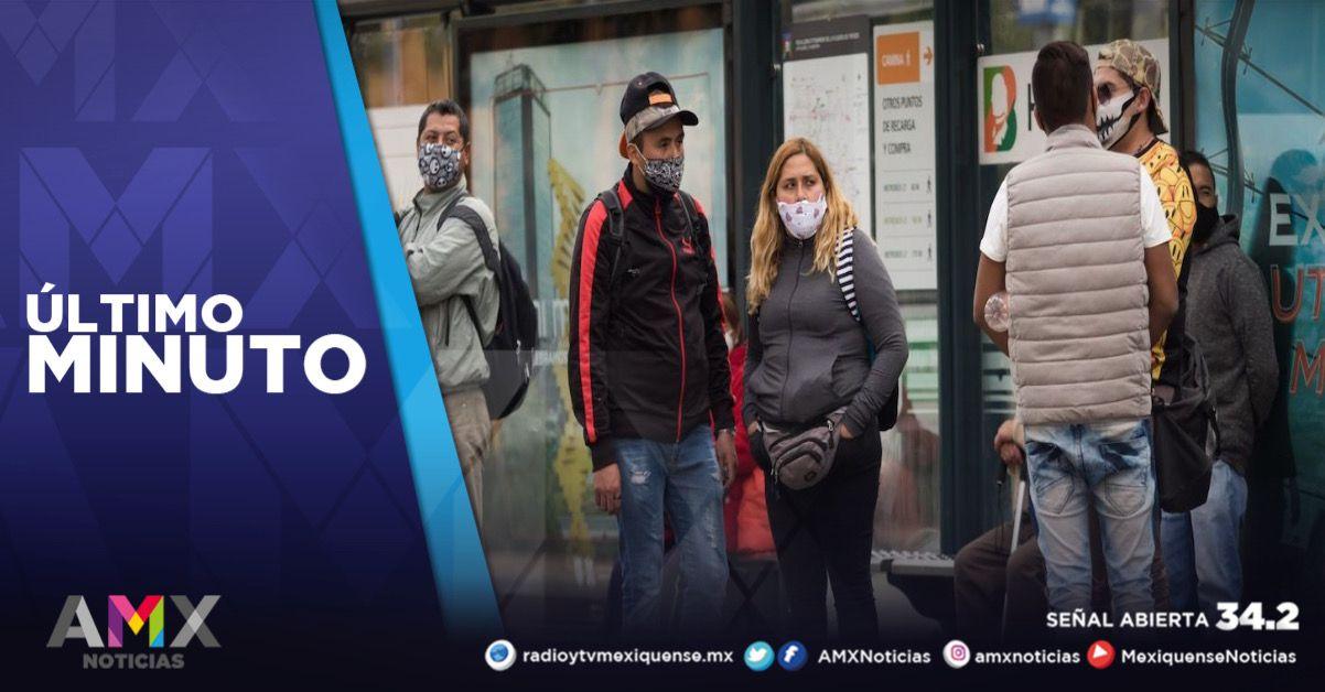 MÉXICO SUMA MÁS DE 120 MIL CASOS ACTIVOS ESTIMADOS DE COVID-19