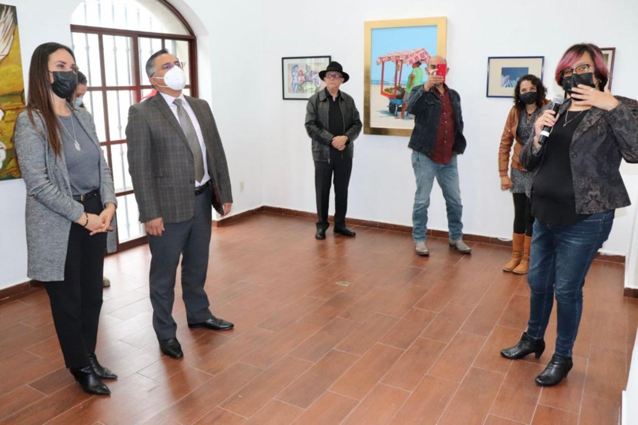 """INAUGURAN EXPOSICIÓN COLECTIVA DE PINTURA """"REFLEJOS DE MUJER"""", AUTORÍA DE ARTISTAS MEXIQUENSES"""