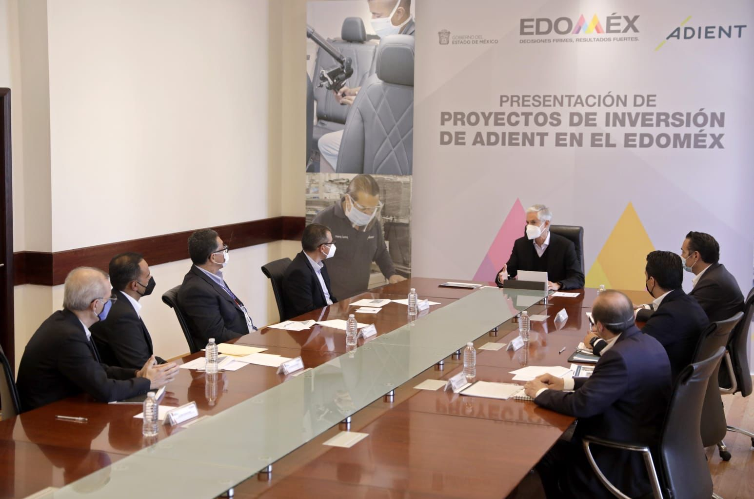 ALFREDO DEL MAZO ANUNCIA INVERSIÓN DE EMPRESA ADIENT EN EL EDOMÉX