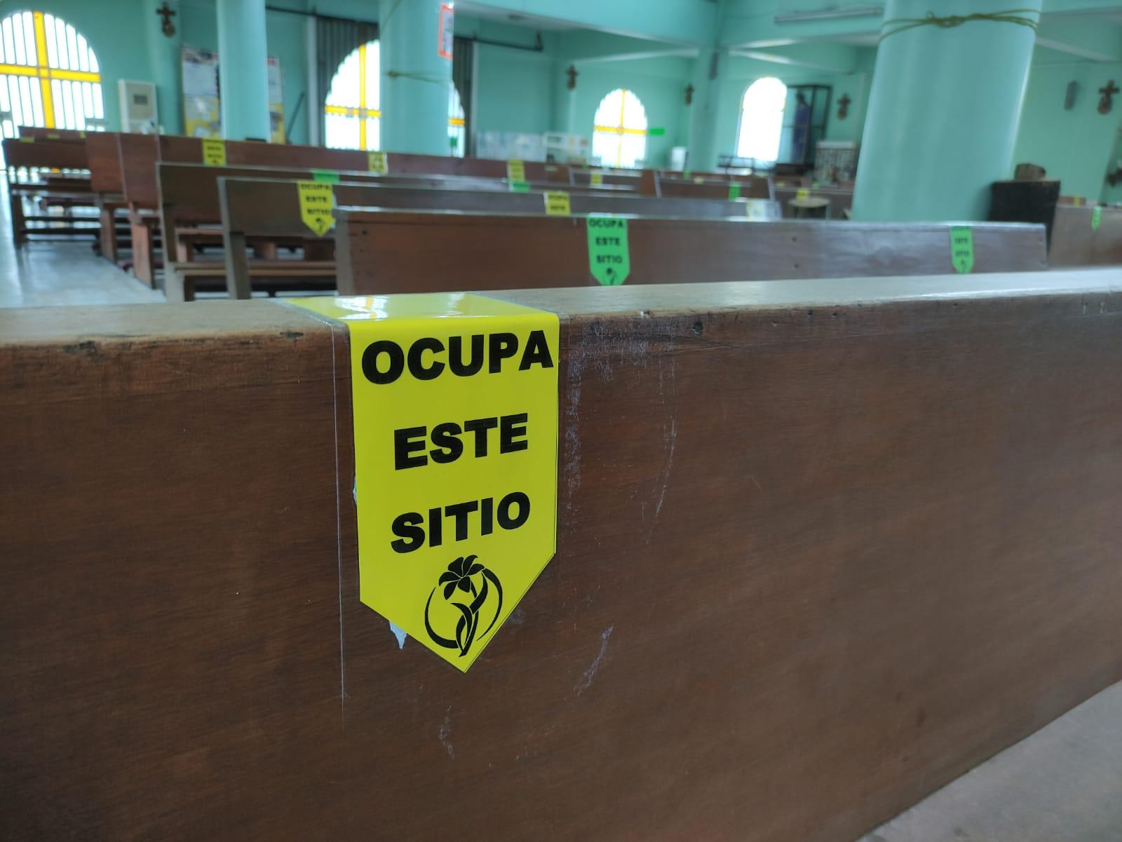 IGLESIAS OPERAN CON 30% DE AFORO EN NEZAHUALCÓYOTL