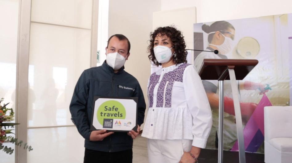 EDOMÉX PROMUEVE EL TURISMO CON SELLO SAFE TRAVELS