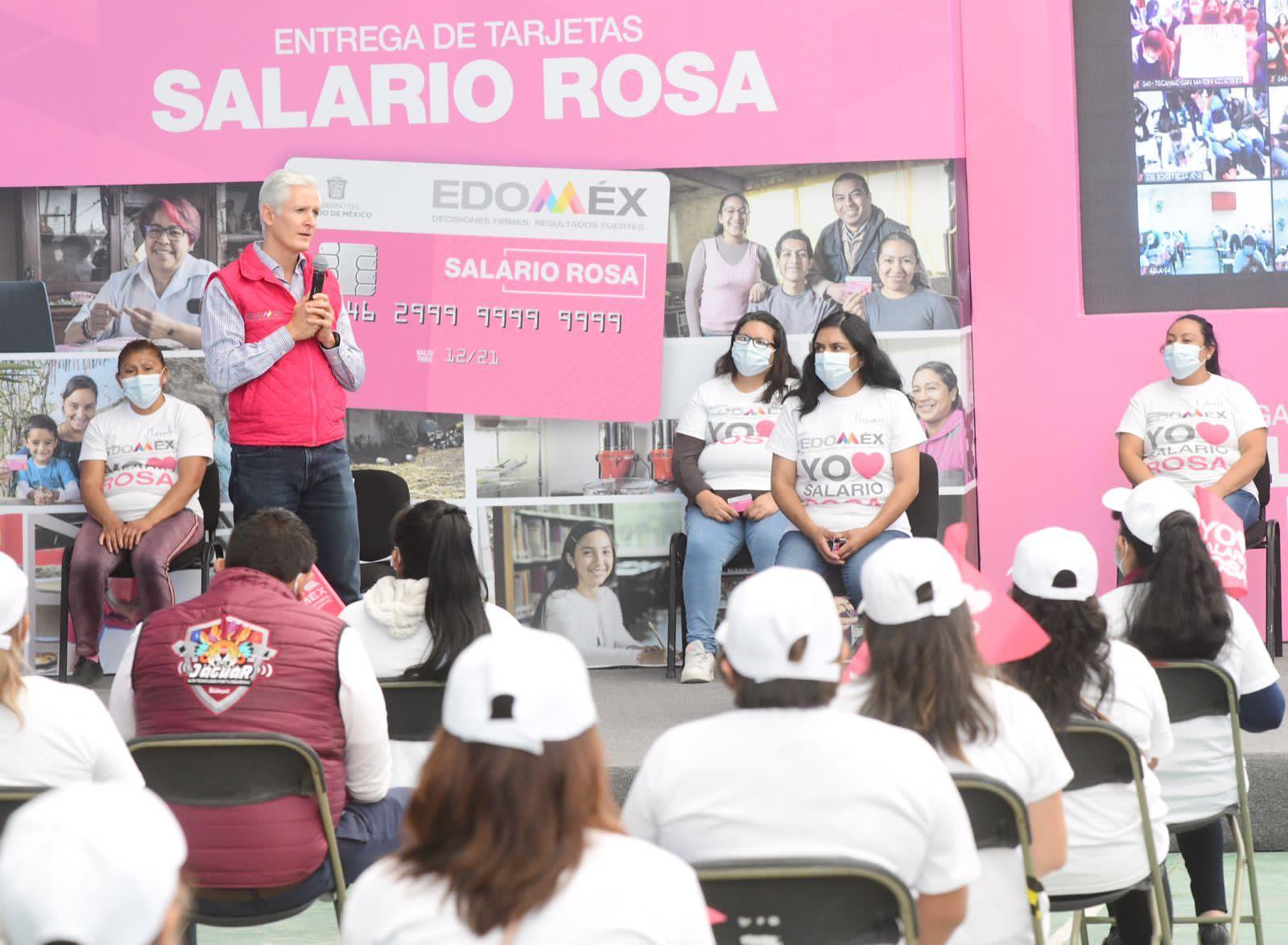BRINDA SALARIO ROSA RESPALDO Y TRANQUILIDAD A LAS AMAS DE CASA: ALFREDO DEL MAZO