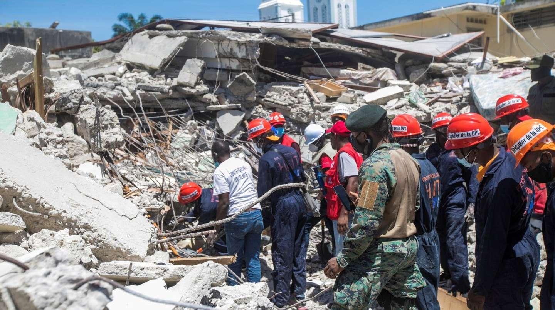 AUMENTA CIFRA DE FALLECIDOS POR TERREMOTO EN HAITÍ