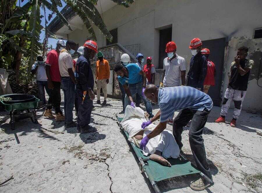 INCREMENTA CIFRA DE FALLECIDOS POR TERREMOTO EN HAITÍ