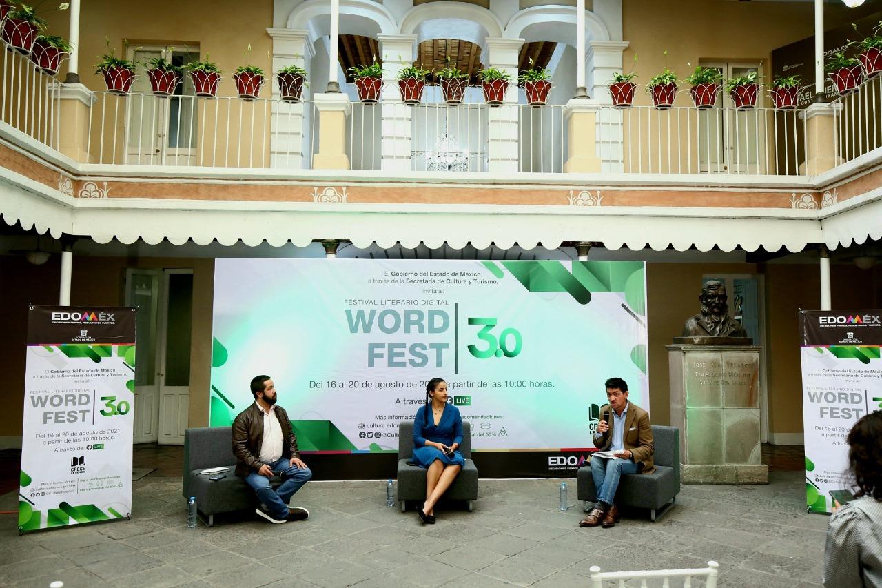 FESTIVAL LITERARIO DIGITAL WORD FEST 3.0 REUNIÓ A DESTACADOS ESPECIALISTAS