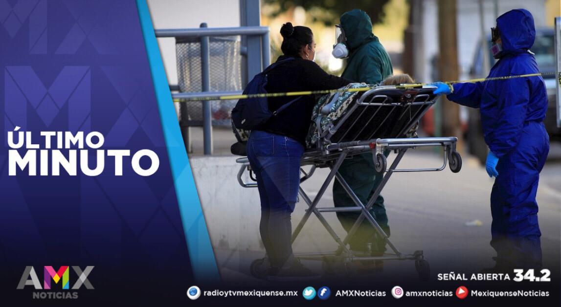 MÉXICO REGISTRA 20 MIL 307 NUEVOS CASOS A COVID-19 EN LAS ÚLTIMAS 24 HORAS