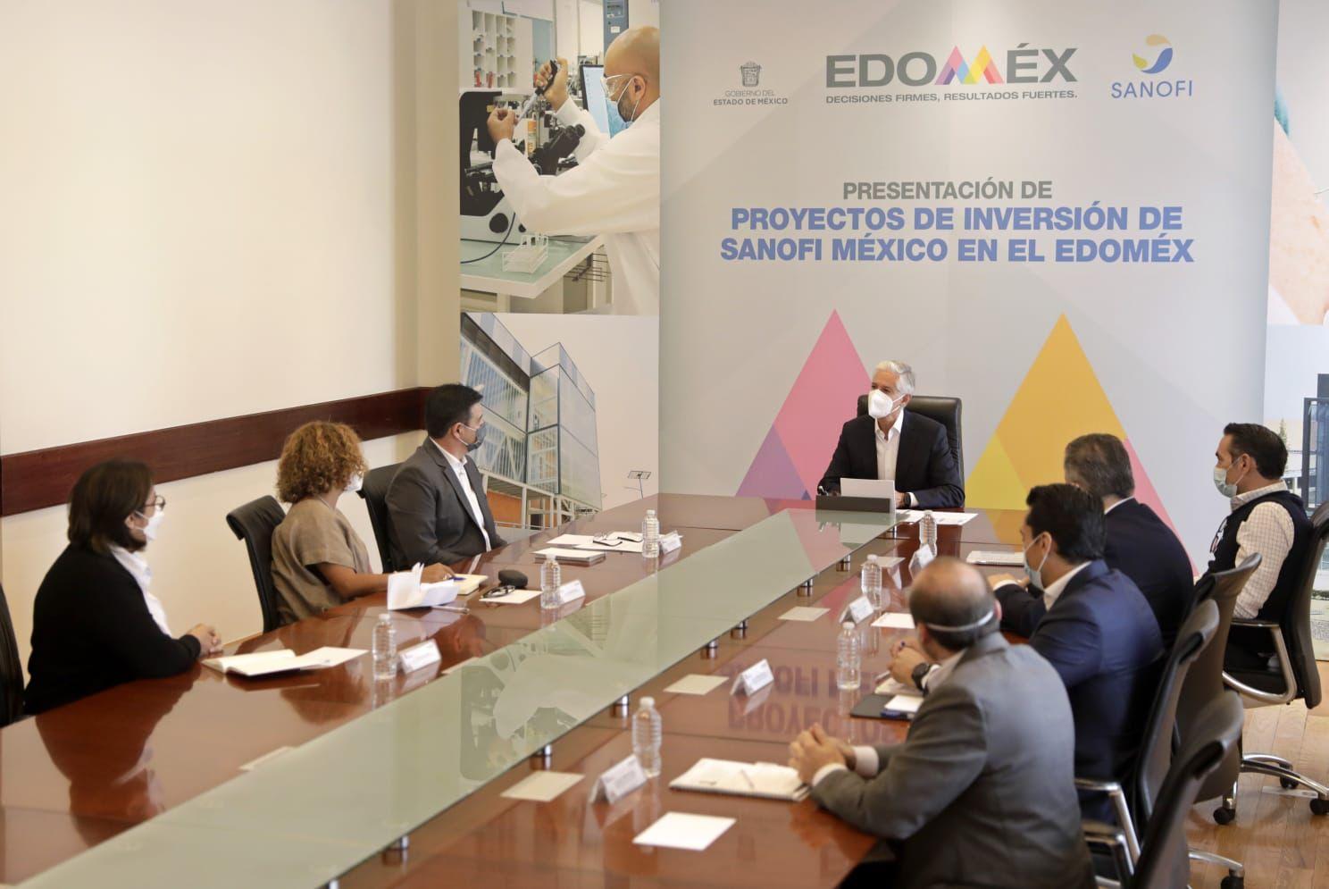 EMPRESA SANOFI MÉXICO INVERTIRÁ 129 MILLONES DE EUROS EN EDOMÉX