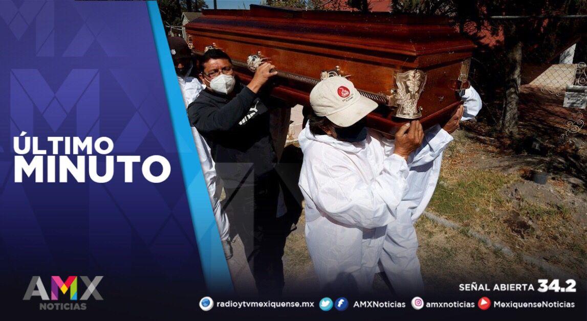 SUPERA EDOMÉX LAS 28 MIL MUERTES POR COVID-19