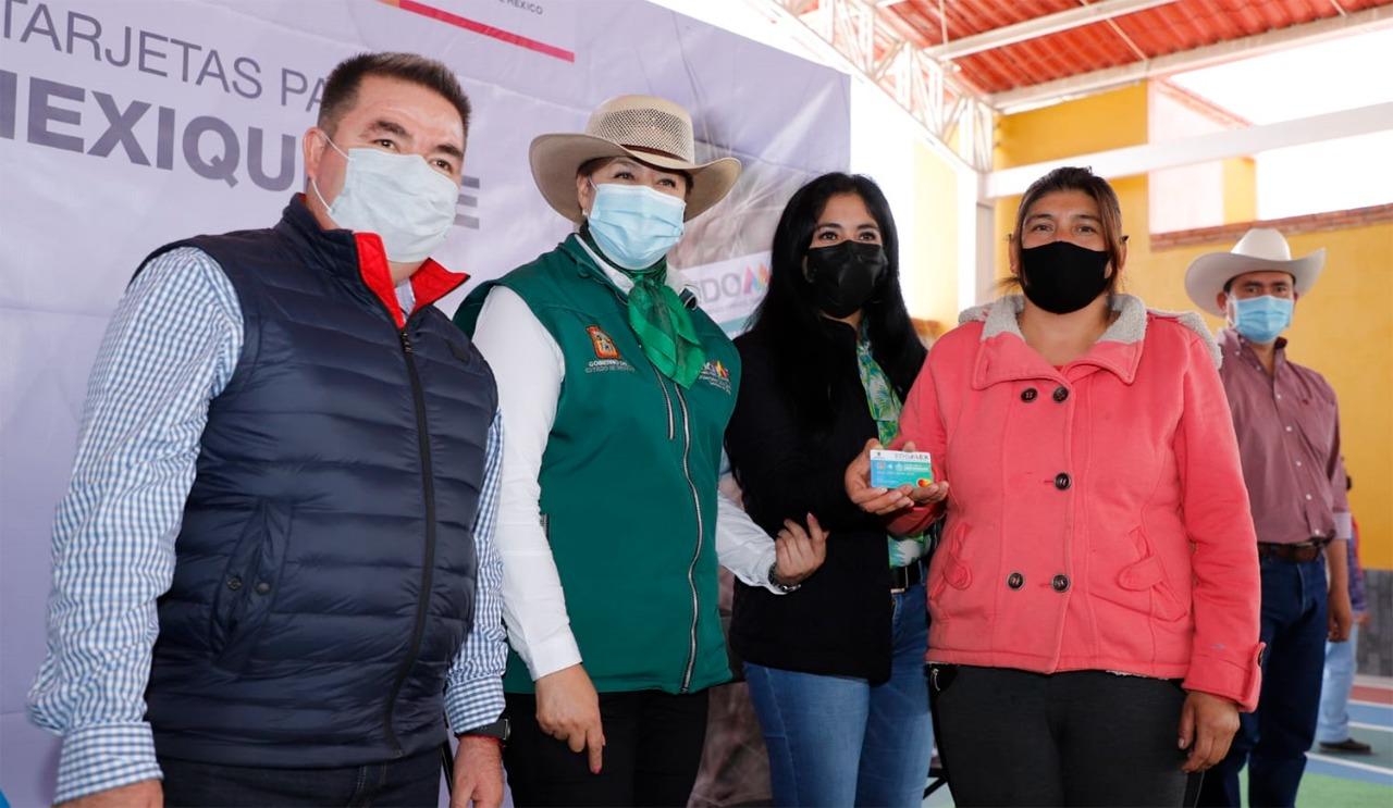 ENTREGA SECRETARÍA DEL CAMPO TARJETAS A GANADEROS DE LA REGIÓN DE AMECAMECA