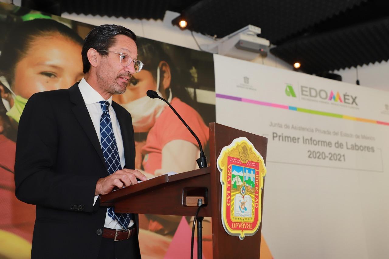 RECONOCEN LABOR ASISTENCIAL EN BENEFICIO DE LOS MEXIQUENSES