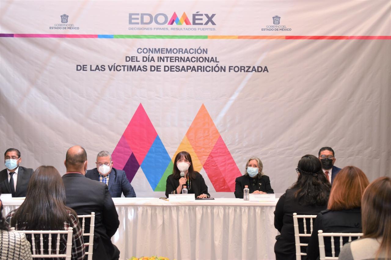 CONMEMORA GEM DÍA INTERNACIONAL DE LAS VÍCTIMAS DE DESAPARICIONES FORZADAS