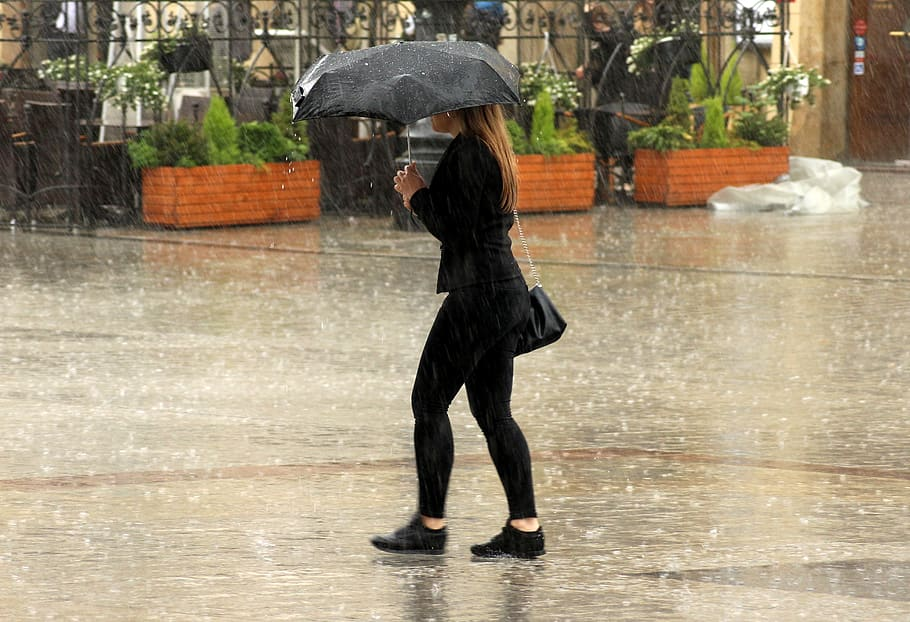 Chubascos y hasta lluvias fuertes se prevén en Edoméx
