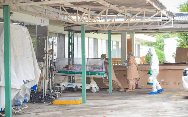 PACIENTE COVID-19 ESCAPA DE HOSPITAL DE VALLE DE BRAVO