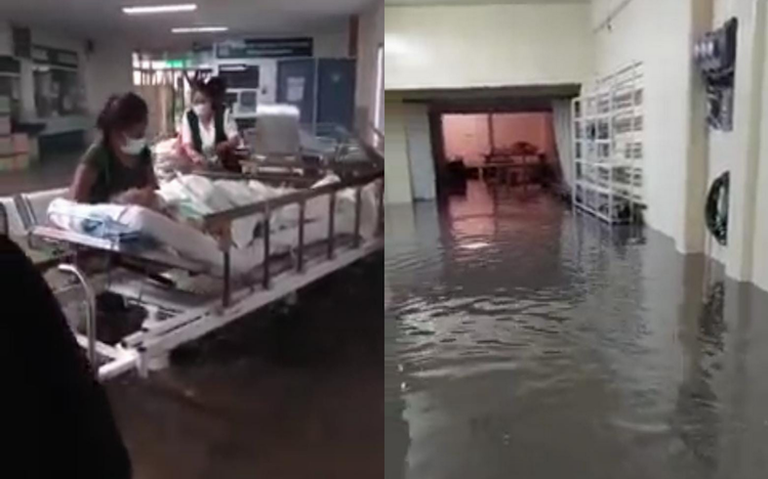 AUMENTA CIFRA DE MUERTOS POR INUNDACIÓN EN HOSPITAL DEL IMSS EN TULA