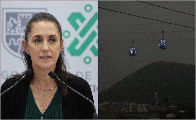 CDMX ANALIZA SANCIONAR A EMPRESA QUE OPERA CABLEBÚS POR FALTA DE ENERGÍA TRAS SISMO