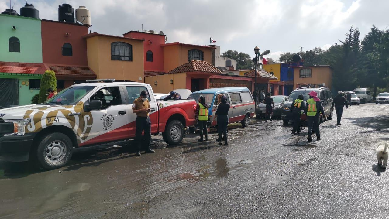 LLUVIAS NO DAN TREGUA EN MUNICIPIOS DEL EDOMÉX