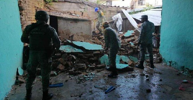 SUMAN DOS MUERTOS POR SISMO DE 7.1 EN ACAPULCO, GUERRERO