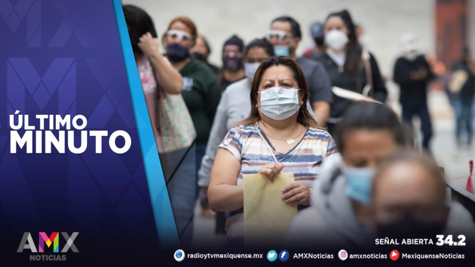 MÉXICO REGISTRA MÁS DE 100 MIL CASOS ACTIVOS DE COVID-19