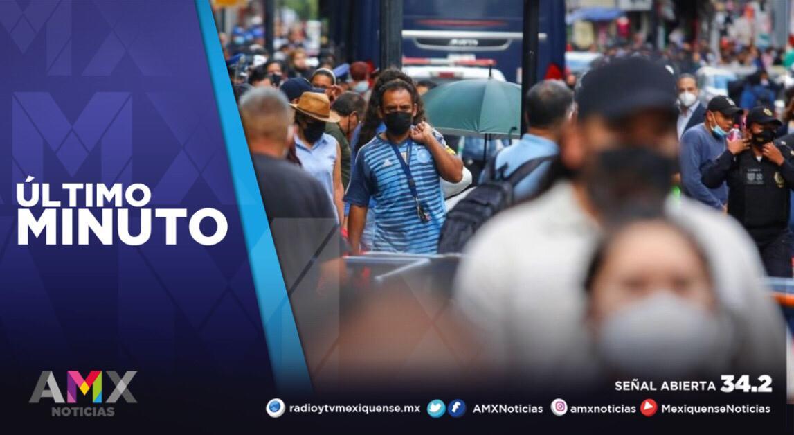 MÉXICO REPORTA 12 MIL 500 NUEVOS CONTAGIOS POR COVID-19