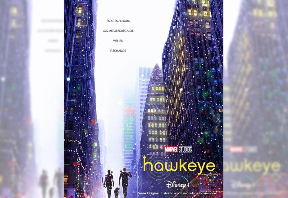 """DISNEY+ REVELÓ EL PRIMER TRÁILER DE LA SERIE DE MARVEL """"HAWKEYE"""""""