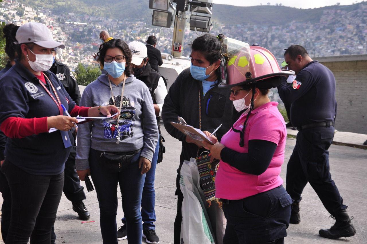 EXHORTAN A LA POBLACIÓN A NO QUEMAR PIROTECNIA EN LA PERIFERIA DEL CERRO DEL CHIQUIHUITE