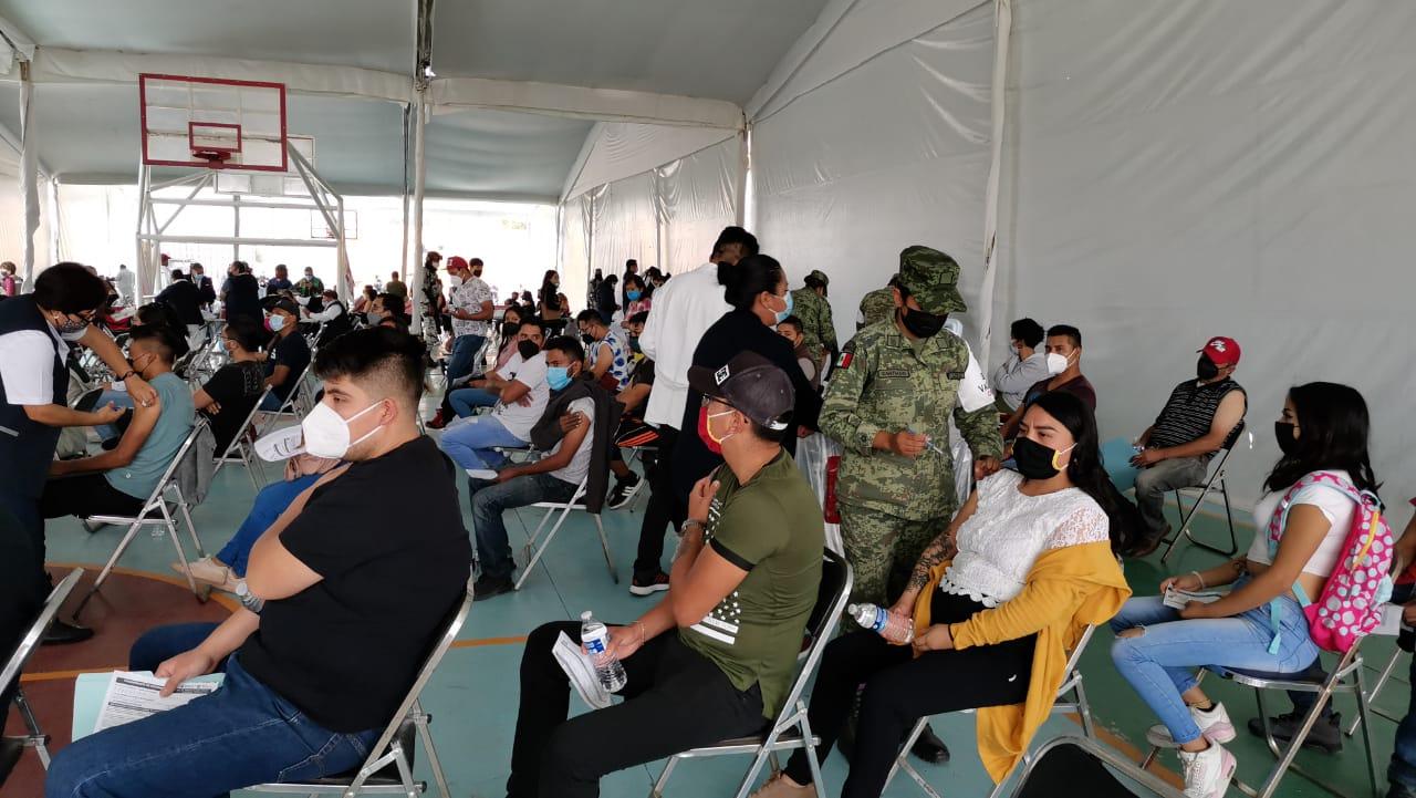 VACUNADOS DAN EL GRITO EN TULTEPEC