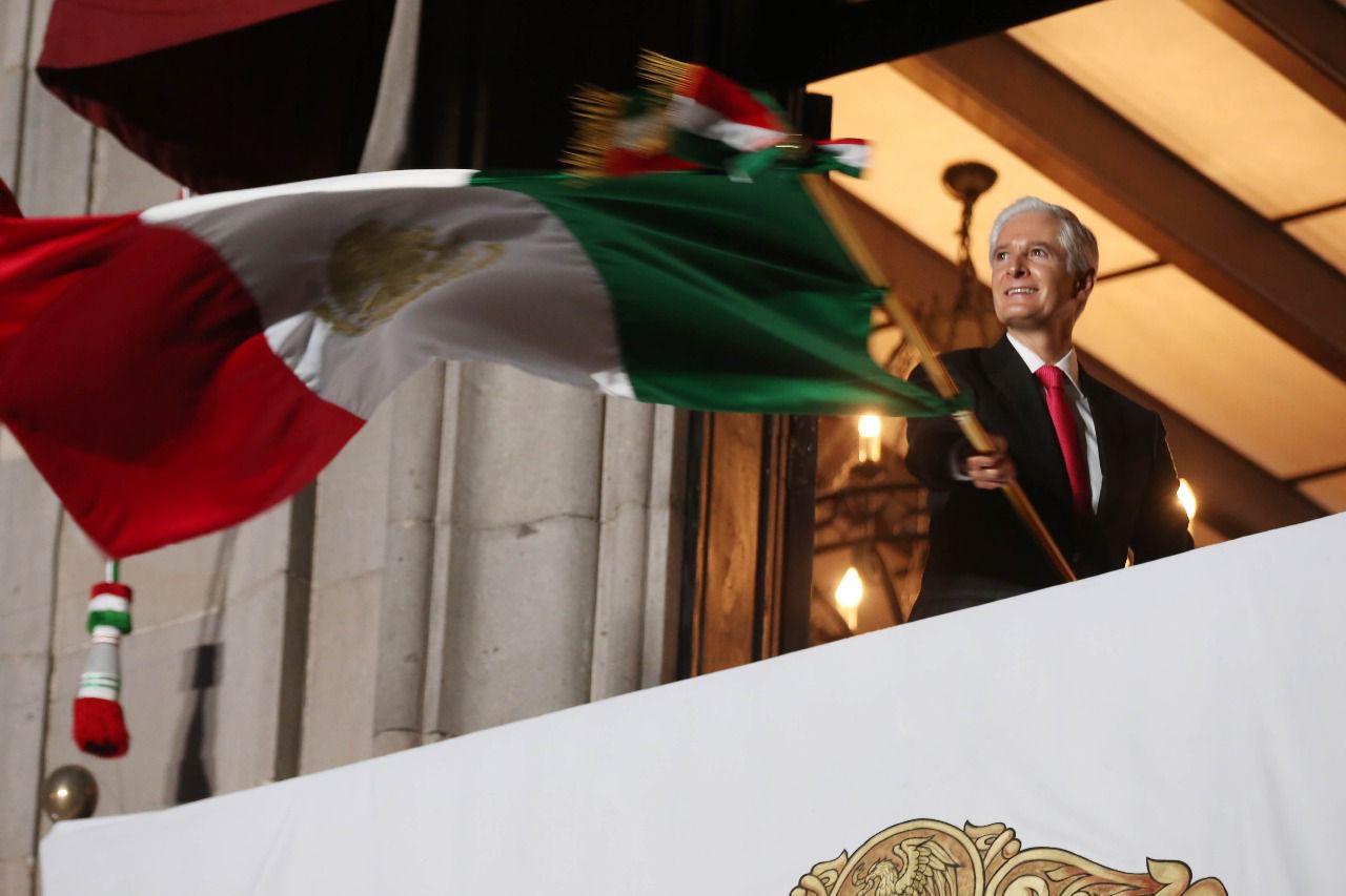 ENCABEZA ALFREDO DEL MAZO EL 211 ANIVERSARIO DEL INICIO DE LA INDEPENDENCIA DE MÉXICO