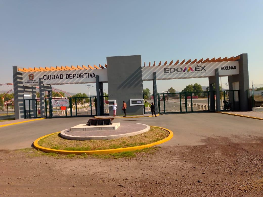 DEPORTIVA DE ACOLMAN ES PUNTO DE ENCUENTRO Y CONVIVENCIA PARA FAMILIAS MEXIQUENSES